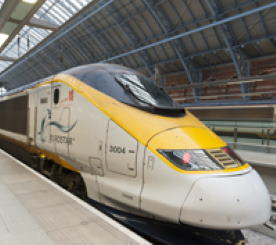 Photograph of the Eurostar